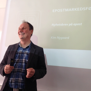 Foredragsholder Kim Nygaard