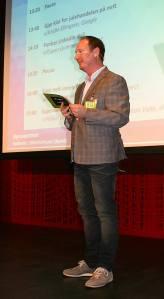 Konferansier Kim Nygaard